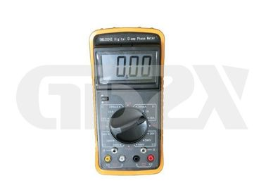 Digital Phase Power Quality Analyzer 10mA - 10A Measuring Current High Contrast LCD