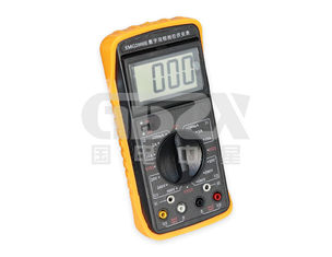 Double Clamp Digital Phase Meter , Portable Power Quality Analyser High Resolution